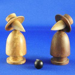 Spy vs Spy Maple & Walnut