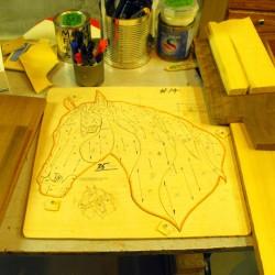 Horsehead step 2