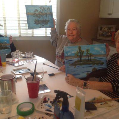 Maud Skoog Painting classes